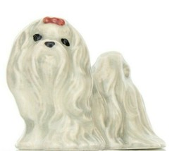 Hagen Renaker Dog Maltese Ceramic Figurine