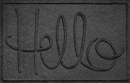 Bungalow Flooring Waterhog Hello Design Doormat, 2' x 3', Indoor/Outdoor... - $39.51