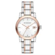 【BURBERRY】The City BU9127 Ladies Diamond Accent Bracelet Watch - 34mm - Warranty - $329.00