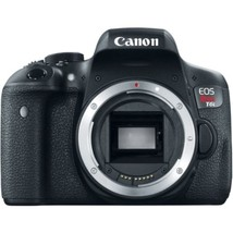 SI Canon EOS Rebel T6i 24.2 Megapixel Digital SLR Camera Body Only - 3 T... - $748.43
