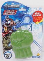 HULK'S SMASHING CHALLENGE - THE AVENGERS MARVEL COMICS TOY PLAYING CARD ... - $8.88