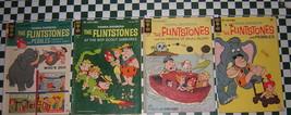 Gold Key: Flintstones: 13, 18, 28, 43 ~ 4 books ~ Combine Free ~ C16-170F - $13.51