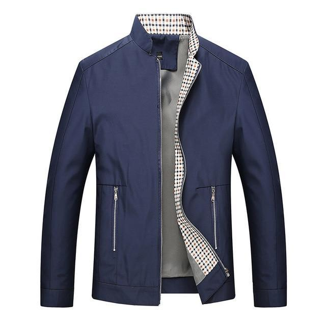 Leisure business men jacket zipper coat