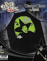 The Wizard of Oz Wicked Witch of West Character Adult Polyester Apron NE... - $23.17