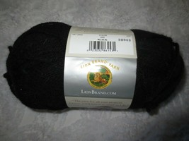 1 - 3.5 Oz. Skein Lion Brand Vanna's Choice Acrylic 4-Ply #153 Black Yarn - $4.00