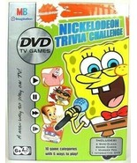 Nickelodeon Trivia Challenge DVD TV Game with Spongebob Squarepants  - $18.71