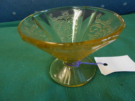 Great Collectable Depression FEDERAL Glass MADRID Pattern SHERBET Glass.... - $4.95