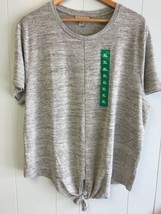 Calvin Klein Women's Top  Gray X-Large #850 - $14.99