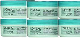 L'Ooral Paris Hair Expert Extraordinary Clay Pre-Shampoo Mask, 5.1 Fluid... - $34.99