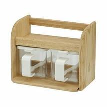 *REC DELI wooden cooking box (2) cruet K-956 - £52.20 GBP