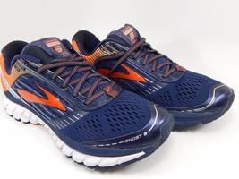 Brooks Ghost 9 Men's Running Shoes Sz US 8.5 M (D) EU 4 Blue Orange 1102331D442