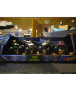 Hot Wheels Monster Jam Tour Favorites Mohawk Shark Shock Nightmare Grave... - $16.65