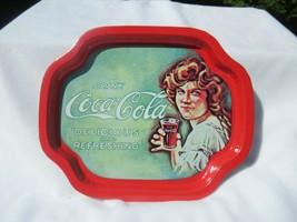 """Vintage Coca-Cola """"Delicious & Refreshing"""" Medium Serving Tray 2 Pack - $18.02"""