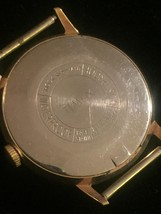 """Vintage Gold Timex 2124 2567  1 1/4"""" watch (No band)  image 3"""