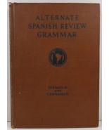Alternate Spanish Review Grammar and Composition Book - $5.99
