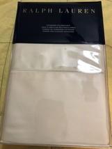 Ralph Lauren Rl 624 Cotton Sateen Standard Pillowcases Hollywood Cream New - $47.50