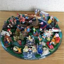 Tokyo Disney Land Sea 25th Coca cola Limited Diorama figure Complete 24 set RARE - $154.99
