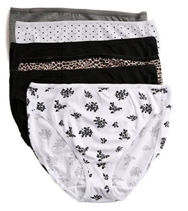 d603a5d5d19 Felina Women s 6 Pack Hi Cut Cotton Stretch and 50 similar items