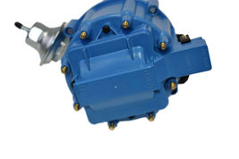 BBF Ford 351C 429 460 V8 Coil Hei Distributor 50,000 50k Volt w/ Blue Cap image 4