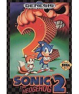 Vintage Sonic the Hedgehog 2 (Sega Genesis) | Game Cartridge Only - $6.81