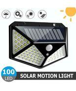 Solar Power 100 LED Wall Light PIR Motion Sensor Waterproof Security Lam... - $39.90
