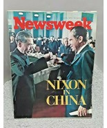 Newsweek Magazine March 6 1972 Richard Nixon In China - $7.91