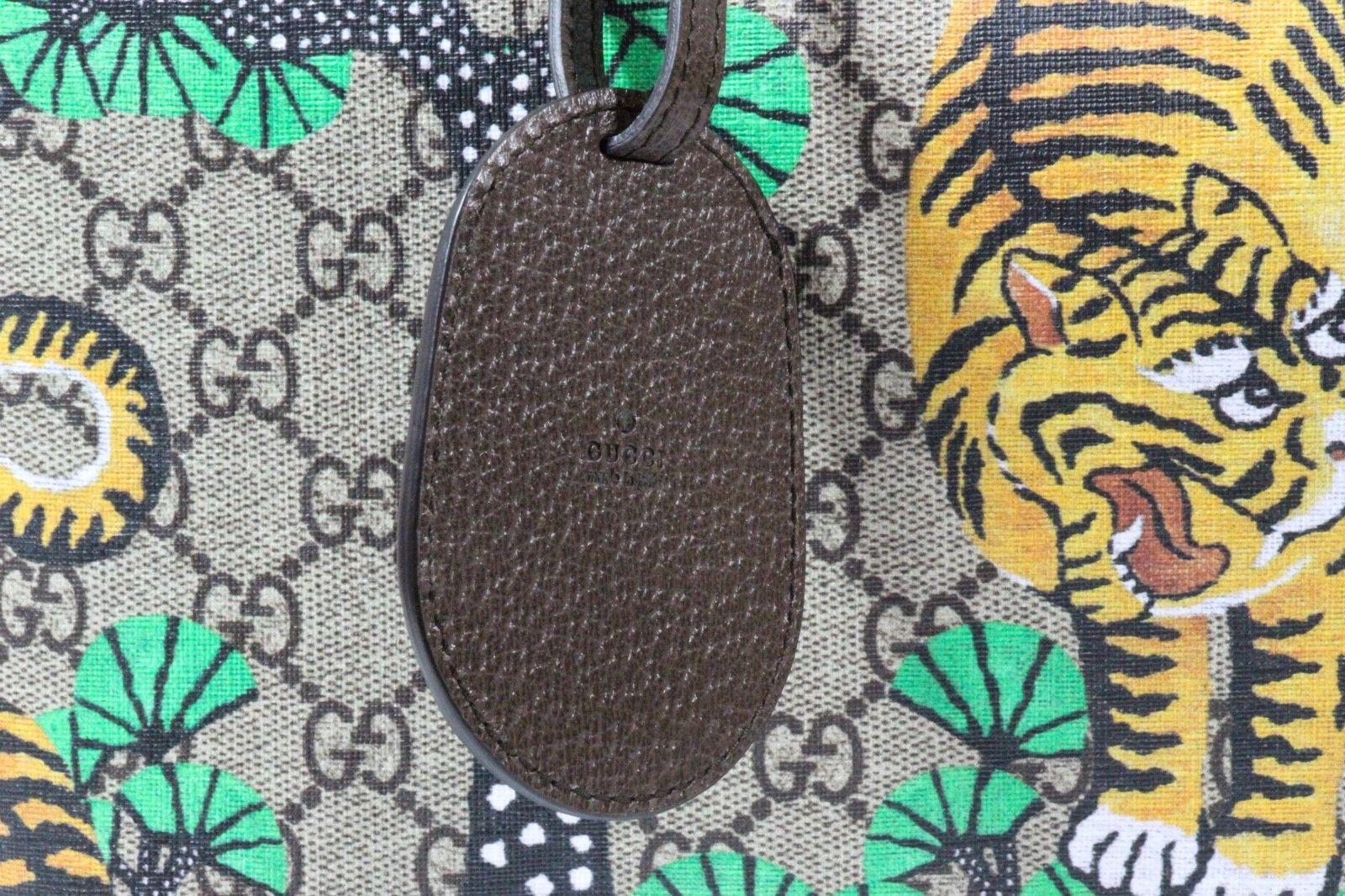 60df11b9e93 NWT GUCCI 412096 Bengal GG Supreme Tote Bag