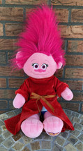"Build a Bear Dreamworks Trolls Princess Poppy 23"" Plush Doll Dress Under... - $24.50"
