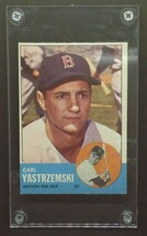 1963 Carl Yastrzemski Topps Original Baseball Card #115 - Ungraded Near ... - $475.00