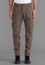 G-Star Raw Rovic 3D Loose Tapered Cargo Pants in Magma W36 /L30 $210 BNWT - $129.11