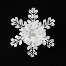 LED Lighted Snowflake Christmas Window Decoration Light Christmas New Ye... - $8.90