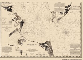 Civil War - Chesapeake Bay - Blunt 1863 - 23.00 x 31.31 - $36.58+