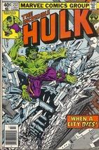 (CB-7) 1979 Marvel Comic Book: The Incredible Hulk #237 - $5.50
