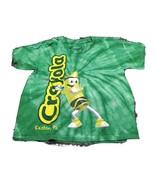 Crayola Experience Tie-Dye Green Kids Short Sleeve T-Shirt - $7.23
