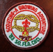 BOY SCOUTS BSA SCOUTING A GROWING ADVENTURE 1983 SOUTH FLORIDA COUNCIL P... - $3.00