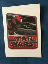 Star Wars Journey to The Force Awakens Cloth Stickers #CS3 Poe Dameron  *NEW* t1 - $5.99
