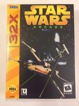 Star Wars - Sega 32X - Replacement Case - No Game - $7.91