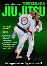 Sylvio Behring Brazilian Jiu Jitsu Progressive #3 escapes throws chokes DVD - $22.00