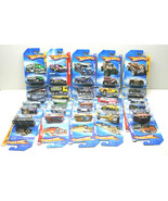 30 Hot Wheels 2008 - 2009 Picture Card Diecast Car+Truck Lot No Two Alike NOC    - $51.41