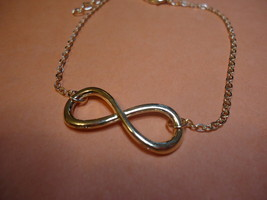 Gp Infinity Pendant Bracelet Or Anklet Combined Shipping !! (1369) - $3.99
