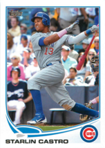 2013 Topps #113 Starlin Castro NM-MT Cubs - $0.75