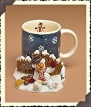 "Boyds Bears Home Accessory- MUG- ""Ernest.. The Snowbear"" Style #390526  ... - $29.99"