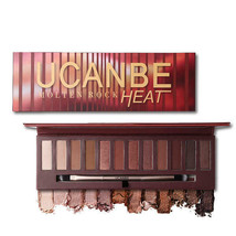 12 Colors Warm Brown Eye Shadow Palette Matte Shimmer Cosmetic COD - $26.34