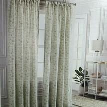 "Threshold 2 Panels Curtains 40 x 84"" Korfu Climbing Floral Light Filtering NEW - $19.79"