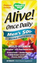 5 Pack Once Daily Men's 50+ Multi-Vitamin 60 Tablets Multi-Mineral Suppl... - $102.02