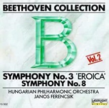Beethoven Collection 2: Symphonies 3 & 8 Vol 2 Cd image 1