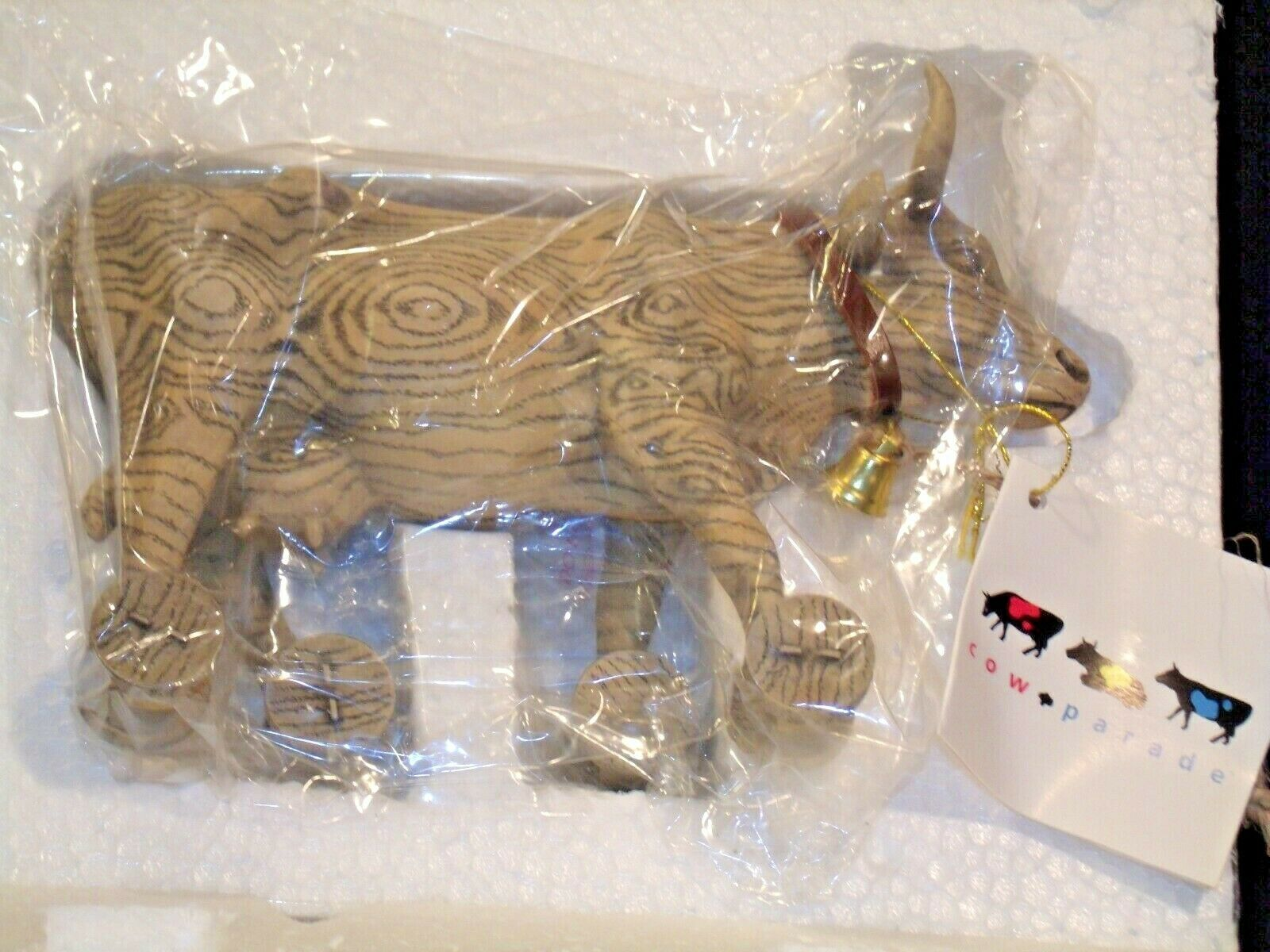 CowParade Pull Toy Item # 9130 Westland Giftware AA-191941  Vintage Collectible