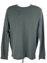 American Eagle Active Flex Long-Sleeve Shirt L Black Stretch - $402,78 MXN
