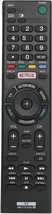 Rmt-Tx100U Replaced Tv Remote Compatible With Sony Smart 4K Tv Xbr-55X810C Xbr-7 - $13.99