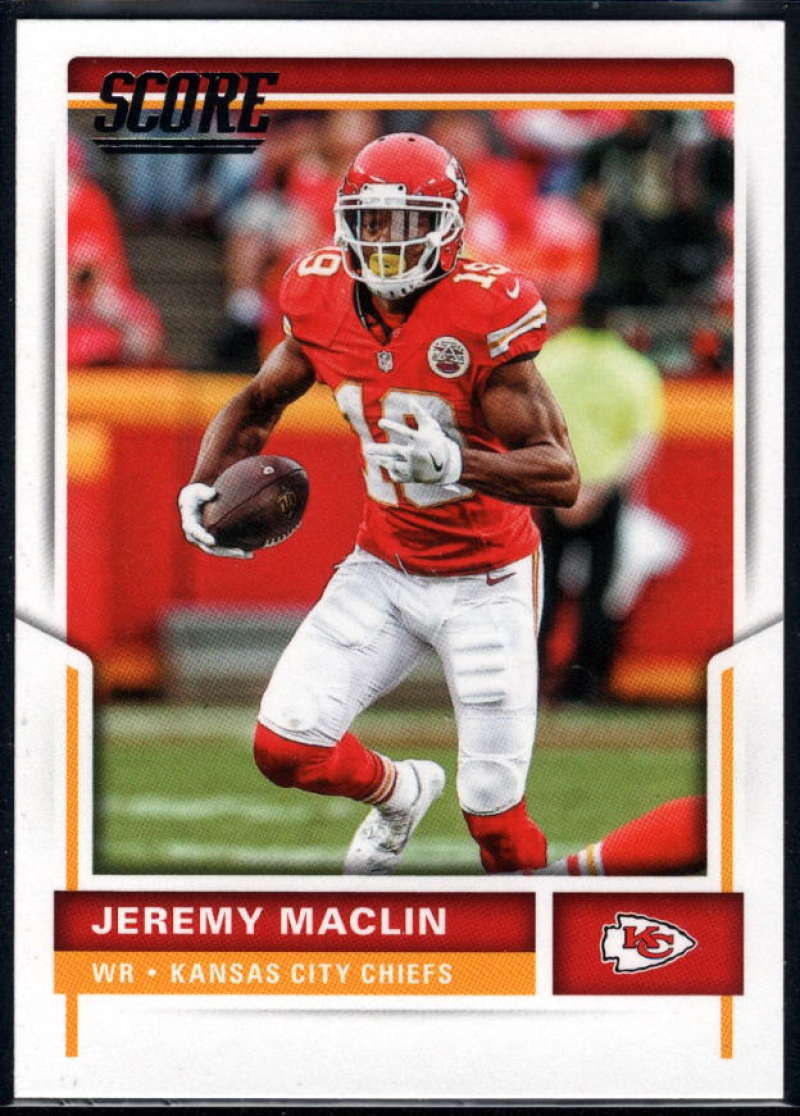 Primary image for 2017 Score #203 Jeremy Maclin NM-MT Chiefs